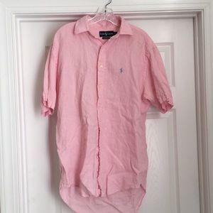 Ralph Lauren men's linen button down